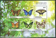 MICRONESIA 2014 BUTTERFLIES SHEET MINT NH