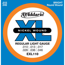 Muta D'addario per Chitarra elettrica EXL 110 10 46 10/46 Exl110