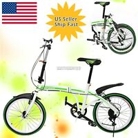 "Foldable 6 Speed 20"" Types of Bike Easy Storage Bicycle Riding & Bike Rear Racks"