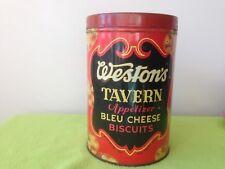 Weston's Tavern biscuit tin