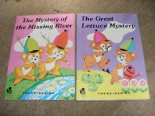 2 x Topsy Series Early Reader books Great Lettuce Mystery & Missing River PB