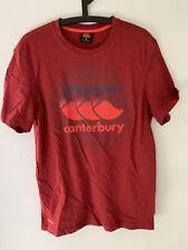 Canterbury T Shirt Red