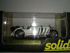 Solido Mercedes SSKL 1931 Modeles Reduits  NEW SEALED NOS