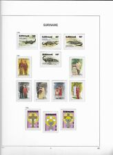 1988 MNH Republiek Suriname year collection according to DAVO