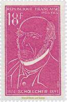 EBS France 1957 Victor Schœlcher (1804-1893) AntiSlavery campaign YT 1092 MNH**