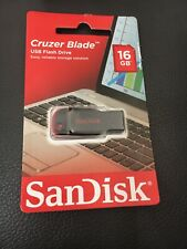 Sandisk Cruzer Blade USB Flash Drive 16 GB
