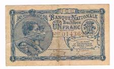 """1 Frank/Franc  type   """"1919""""  Nationale Reeks   02.05.1922        Morin 4"""
