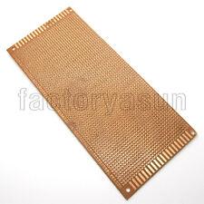 5PCS Prototype PCB 9x20cm Universal Single Side Copper Project Breadboard