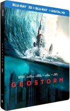 Geostorm - Gerard Butler Limited Edition Steelbook 2D+3D Region Free NEW