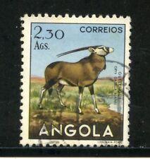 1953 - ANGOLA - 2,30 Ags. ANTILOPE - USATO - LOTTO/29030