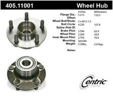 Wheel Bearing and Hub Assembly-Premium Hubs Rear Centric 405.11001