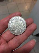 1915 liechtenstein 5 krone silver coin