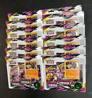 Pokemon Unified Minds Booster Box 36 Sealed Packs Stakataka Blisters