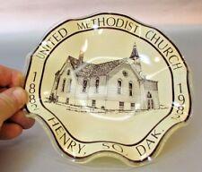 Rare Henry South Dakota United Methodist Church 1982 Centennial Plate