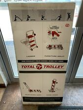 Total Trolley 42'' Collapsible Hand Cart 4 in 1 Step Ladder Cart NEW!