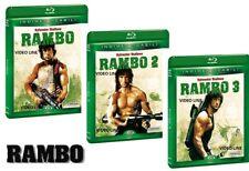 Blu Ray RAMBO La Trilogia 1-2-3 (3 Blu Ray) - Nuova Edizione ......NUOVO