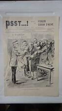 PSST...!  IMAGES PAR FORAIN CARAN D'ACHE N°2 DE 1898