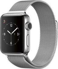 New Apple Watch Gen 2 Series 2 38mm Stainless Steel - Milanese Loop MNP62LL/A