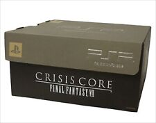 PSP 2000 Crisis Core Final Fantasy 7 Limited Silver Console 10th Anniversary USE