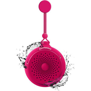 HyperGear Splash Water Resistant Wireless Bluetooth Speaker - Pink