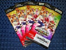 NEW Nintendo amiibo Mario Sports Super Stars Card 4PACK set not BOX JAPAN 3DS FS