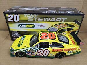 2008 Tony Stewart #20 Subway Joe Gibbs Racing Toyota 1:24 NASCAR Action MIB