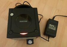 Nintendo GameCube Schwarz Spielekonsole +AR-Action Replay Memory Card+Stromkabel