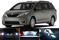 LED for Toyota Sienna Xenon White License Plate/Tag LED Lights Bulbs (2 pcs)