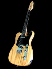 2019 12 STRING TELE STYLE LIGHTWEIGHT COZART NATURAL ELECTRIC GUITAR