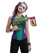NEW DC Comics Batman JOKER Inflatable Blow Up Toy Gun Halloween Costume Cosplay