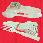 1980s Lot of Wendy's Plastic Fork Spoon Flatware Silverware Dave Thomas