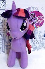 "New MY LITTLE PONY PRINCESS TWILIGHT SPARKLE PLUSH Magic Hasbro Toy Factory 12"""