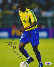 Kleber Pereira SIGNED 8x10 Photo Brazil *VERY RARE* PSA/DNA AUTOGRAPHED