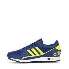 Adidas Originals La Trainer Ii 2 Para hombre Zapatillas Zapatos Azul/Amarillo Reino Unido 7.5, 9.5