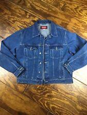 Wrangler Hero Men's Jean Jacket Blue Denim Size L large