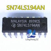 5PCS SN74LS194AN 74LS194 TI IC BI-DIR UNIV SHIFT REG 16-DIP new