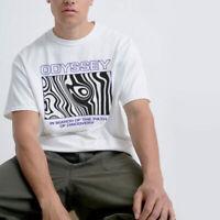 Odyssey T-shirt Retro Print Urban Street Tee 90s Rave Vintage Outfit