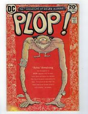 PLOP! # 1 1973 VG- DC COMICS 1973 HUMOR BERNIE WRIGHTSON & SERGIO ARAGONES!