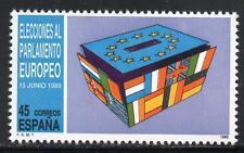 España estampillada sin montar o nunca montada 1989 SG3020 el 3rd elecciones al Parlamento Europeo