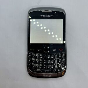 AT&T Blackberry Curve 3G 9300 FOR PARTS White Screen