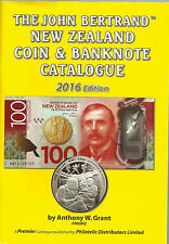NEW ZEALAND 2016 COIN & BANKNOTE 'BERTRAND' CATALOGUE by Anthony W Grant