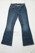 Levi's 544 flare bootcut  usato (Cod.U921) W29 L34 denim jeans donna vita bassa