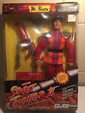 "1993 GI Joe Street Fighter II M. Bison 12"" Figure MIB"