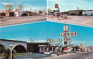 Alamogordo New Mexico~Ace Lodge~Motel~North Date Street~Free Golf~1972 PC