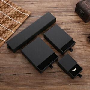 JEWELLERY GIFT BOXES FOR NECKLACE BRACELET EARRINGS SLIDE OPEN BOX BAG- UK STOCK