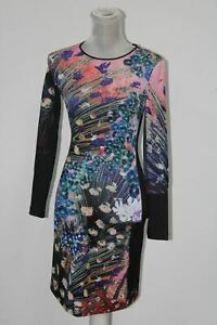 Clover Canyon Sportswear Women's Etched Blooms Longsleeve Printed Dress, Multi,