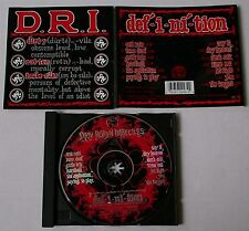 CD von  D.R.I. ‎– Definition