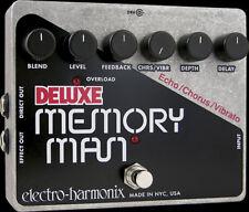 Electro Harmonix DELUXE MEMORY MAN Pedal 550MS Analog Delay/Chorus/Vibrato -NEW!