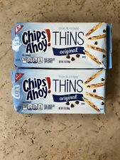 2 X 7 Oz. Bags Chips Ahoy! Thin & Crispy Thins Double Chocolate Cookies