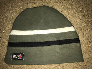 BURTON SKI Green With Black/white Stripe UNISEX BEANIE